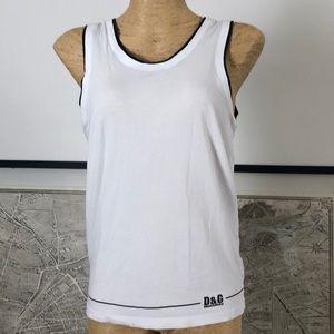 D&G underwear Top tank size M